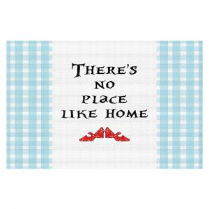 Decorative Floor Coverings | Zara Martina - Theres No Place Like Home l | Inspiring Children Lady Like Ruby Slippers
