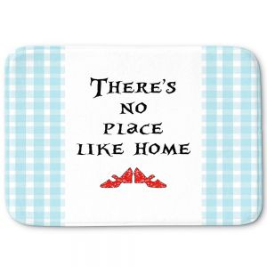 Decorative Bathroom Mats | Zara Martina - Theres No Place Like Home l | Inspiring Children Lady Like Ruby Slippers