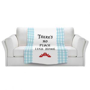 Artistic Sherpa Pile Blankets | Zara Martina - Theres No Place Like Home l | Inspiring Children Lady Like Ruby Slippers