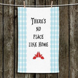Unique Hanging Tea Towels | Zara Martina - Theres No Place Like Home l | Inspiring Children Lady Like Ruby Slippers