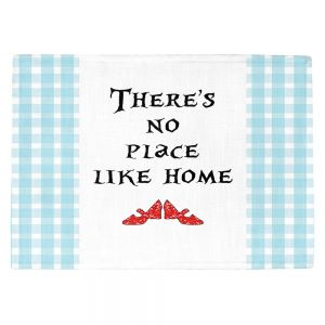 Countertop Place Mats | Zara Martina - Theres No Place Like Home l | Inspiring Children Lady Like Ruby Slippers