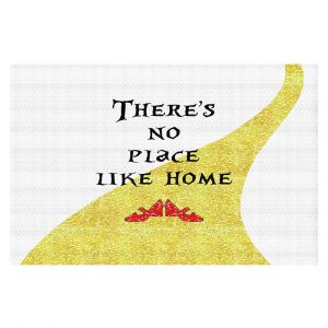 Decorative Floor Coverings | Zara Martina - Theres No Place Like Home ll | Inspiring Children Lady Like Ruby Slippers