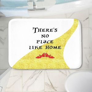 Decorative Bathroom Mats | Zara Martina - Theres No Place Like Home ll | Inspiring Children Lady Like Ruby Slippers