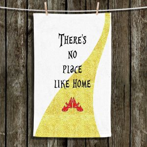 Unique Bathroom Towels | Zara Martina - Theres No Place Like Home ll | Inspiring Children Lady Like Ruby Slippers