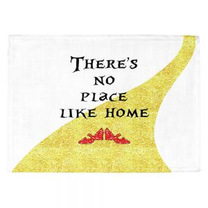 Countertop Place Mats | Zara Martina - Theres No Place Like Home ll | Inspiring Children Lady Like Ruby Slippers