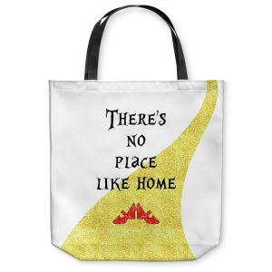 Unique Shoulder Bag Tote Bags | Zara Martina - Theres No Place Like Home ll | Inspiring Children Lady Like Ruby Slippers