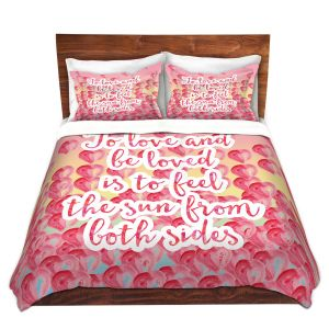 Artistic Duvet Covers and Shams Bedding | Zara Martina - To Be Loved