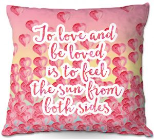 Decorative Outdoor Patio Pillow Cushion | Zara Martina - To Be Loved
