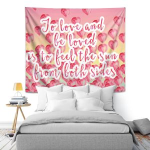 Artistic Wall Tapestry | Zara Martina - To Be Loved