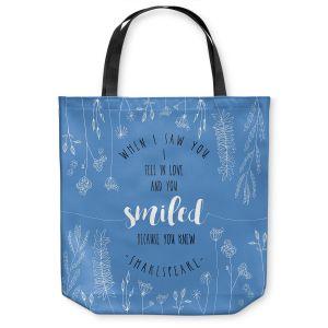 Unique Shoulder Bag Tote Bags | Zara Martina - When I Saw You Blue | Wedding Love
