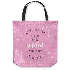 Unique Shoulder Bag Tote Bags | Zara Martina - When I Saw You Pink | Wedding Love