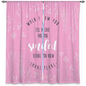 Decorative Window Treatments | Zara Martina - When I Saw You Pink | Wedding Love
