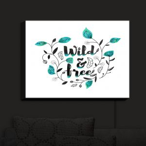 Nightlight Sconce Canvas Light | Zara Martina - Wild and Free Teal