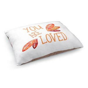 Decorative Dog Pet Beds | Zara Martina - You Are Loved Naranja Leaves | Love Leaves Inspiring Wedding