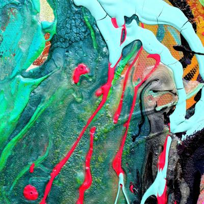 DiaNoche Designs Artist | Aja Ann - Abstract Close Up IV