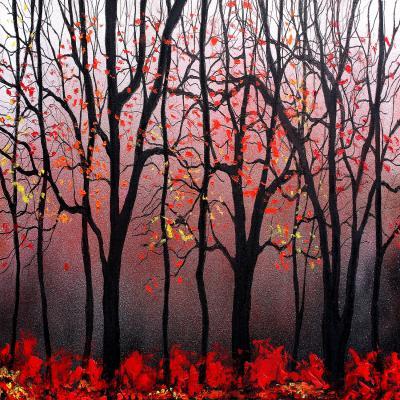 DiaNoche Designs Artist | Aja Ann - Red Light
