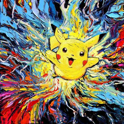 DiaNoche Designs Artist   Aja Ann - van Gogh Pokeman