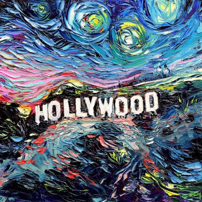 DiaNoche Designs Artist | Aja Ann - Van Gogh Never Saw Hollywood
