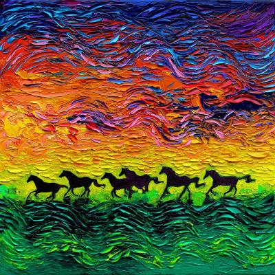 DiaNoche Designs Artist | Aja Ann - Wild Horses