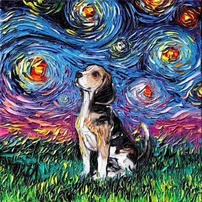 DiaNoche Designs Artist | Aja Ann - Beagle Dog