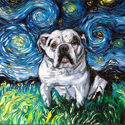 DiaNoche Designs Artist | Aja Ann - Charlie Bulldog