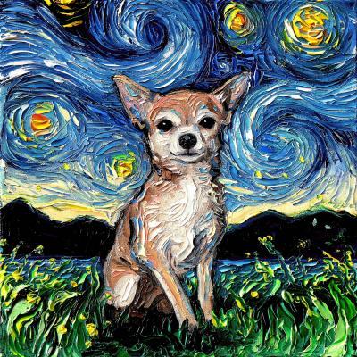 DiaNoche Designs Artist | Aja Ann - Chihuahua Dog