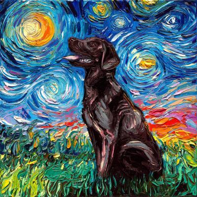 DiaNoche Designs Artist | Aja Ann - Chocolate Labrador