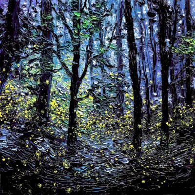 DiaNoche Designs Artist | Aja Ann - Fireflies