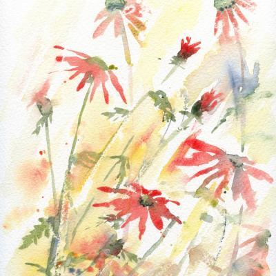 DiaNoche Designs Artist | Amanda Hawkins - Flower Border