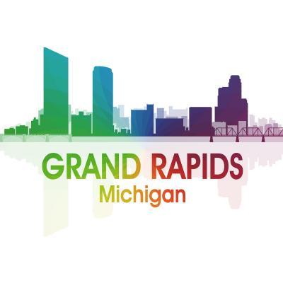 DiaNoche Designs Artist | Angelina Vick - City I Grand Rapids Michigan