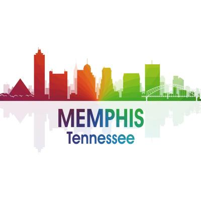 DiaNoche Designs Artist | Angelina Vick - City I Memphis Tennessee
