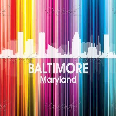 DiaNoche Designs Artist | Angelina Vick - City II Baltimore Maryland