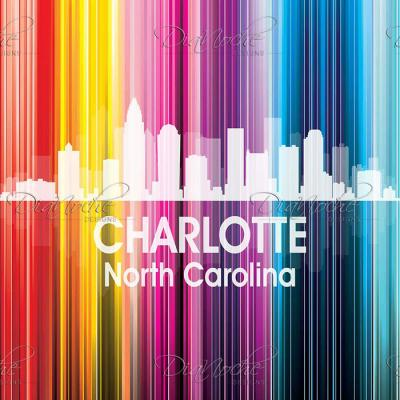 DiaNoche Designs Artist | Angelina Vick - City II Charlotte North Carolina