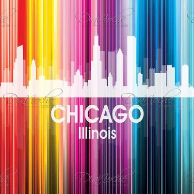 DiaNoche Designs Artist | Angelina Vick - City II Chicago Illinois