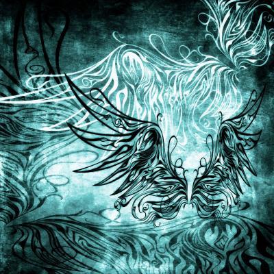 DiaNoche Designs Artist | Angelina Vick - Bird Gothic Aqua
