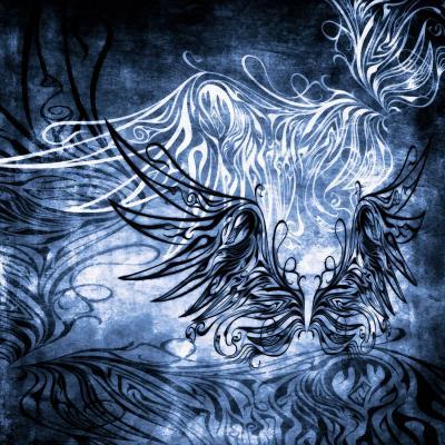 DiaNoche Designs Artist | Angelina Vick - Bird Gothic Blue