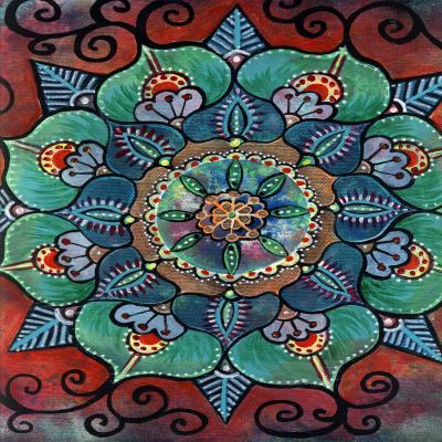 DiaNoche Designs Artist | Ann-Marie Cheung - Green Mandala 2
