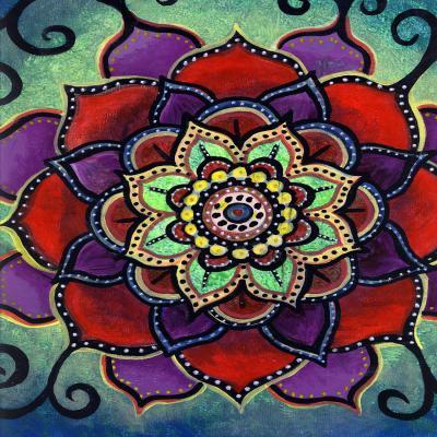 DiaNoche Designs Artist | Ann-Marie Cheung - Lotus Mandala 2
