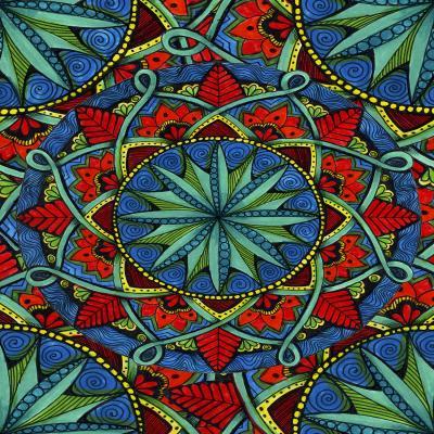 DiaNoche Designs Artist | Ann Marie Cheung - Mandala Magic