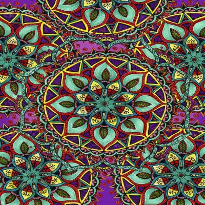 DiaNoche Designs Artist | Ann Marie Cheung - Mandala Magic 2