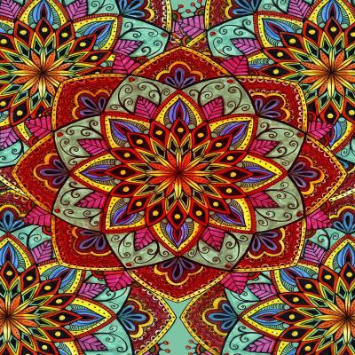 DiaNoche Designs Artist | Ann Marie Cheung - Mandala Magic 3