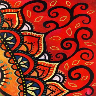 DiaNoche Designs Artist | Ann-Marie Cheung - Red Sunburst