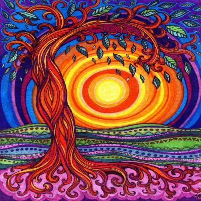 DiaNoche Designs Artist | Ann-Marie Cheung - Tree of Life