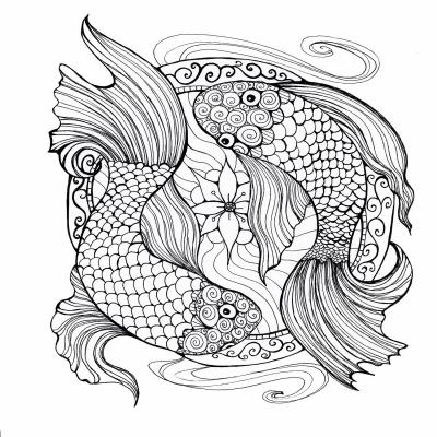 DiaNoche Designs Artist | Ann-Marie Cheung - Two Fish in Circle