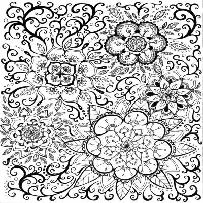 DiaNoche Designs Artist | Ann-Marie Cheung - Floral Mandalas