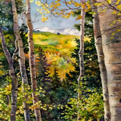 DiaNoche Designs Artist | Anne Gifford - Aspen Afternoon
