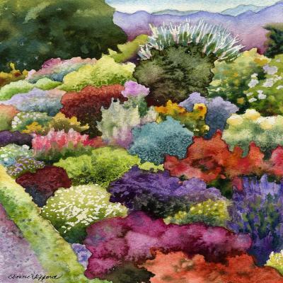 DiaNoche Designs Artist | Anne Gifford - Electric Garden