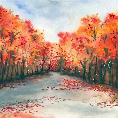 DiaNoche Designs Artist | Brazen Design Studio - Autumn Journey