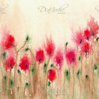 DiaNoche Designs Artist | Brazen Design Studio - Field of Poppies