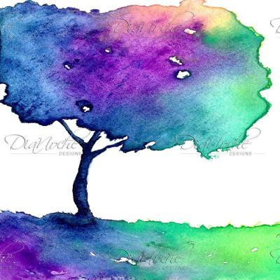 DiaNoche Designs Artist | Brazen Design Studio - Hue Tree II